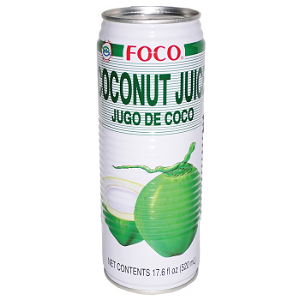 Foto Coconut juice groot (520ml)